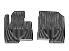 WeatherTech All-Weather Floor Mats for Hyundai Santa Fe 2013-2018 1st Row Black