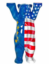 United Buddy Bear ryder NUEVO 6cm EE.UU. EUROPA Oso 2016 + Caja De Regalo