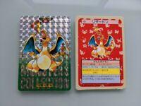 Pokemon Charizard Topsun card poket monster holo bandai nintendo