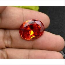 Unheated Padparadscha Sapphire 8.29Ct 10X12mm Oval Cut AAAAA VVS Loose Gemstone