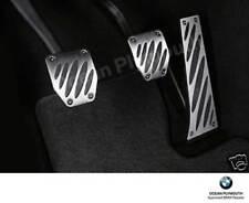 """Genuine BMW Aluminium Pedal Covers, Most """"E"""" Models, E87/E90/E60 etc 35002213214"""