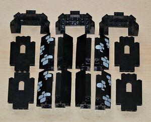 LEGO Ritter Bauteile Burg Castle Palisaden 1x5x6 3x3 schwarz 6085 6068 6075 6090
