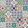 Traditional Tile Stickers Transfers Kitchen Bathroom Custom Sizes Available - T5