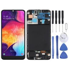 For Samsung Galaxy A50 TFT Screen Touch Digitizer With Frame Glass Part BLACK