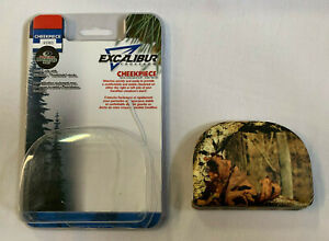 """EXCALIBUR MPN:1978 REALTREE CROSSBOW SNAP-IN-PLACE """"THUMBHOLE"""" STOCKS CHEEKPIECE"""