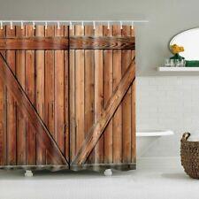 Wall Hanging Bath Screen Geometric Shower Curtain Bathroom Waterproof Home Decor