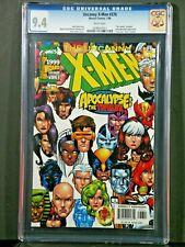 """UNCANNY X-MEN #376 CGC 9.4 Apocalypse """"The twelve revealed"""" KEY Issue"""