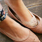 1Pair Women Cotton Lace Antiskid Invisible Liner No Show Peds Low Cut Socks New