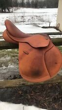english saddle Shire Optimus 17.5""