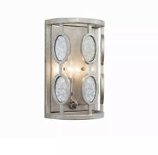Kalco Palomar 2 Light Wall Sconce, Vintage Silver Leaf - 506121Vsl