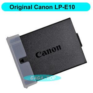 Original Canon LP-E10 battery for Rebel T3 T5 T6 T7 EOS 1200D 1300D 1500D 4000D