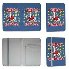 Merry Honkmas Funny Christmas Goose Novelty Gift Passport Holder
