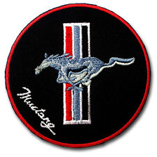 Horse Mustang Patch Iron on Bronco Colt Steed Stud Stallion Ford Shelby Cobra