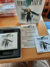 Final Fantasy VII 7 PC Eidos Interactive Big Box Sammlung 1998