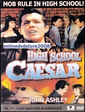 HIGH SCHOOL CAESAR (John ASHLEY Gary VINSON) Teenager Drama Film DVD NEW SEALED