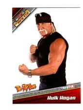 TNA Hulk Hogan H4 2010 New Era Silver Parallel Card SN 849 of 900