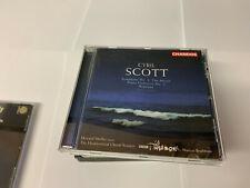 "CYRIL SCOTT: SYMPHONY NO. 3 ""THE MUSES""; PIANO CONCERTO NO. 2; NEPTUNE CD MINT"