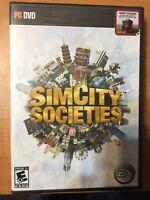 New SimCity Societies Sim City PC DVD FACTORY SEALED