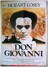 DON GIOVANNI Affiche Cinéma / Movie Poster Joseph Losey 53x40