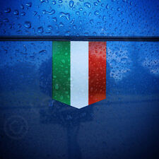 "Flag of Italy Car Sticker - 1 3/8"" x 1 3/4"" - Italian Decal Vinyl Emblem Badge"
