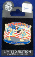 Disney Pin Limited Edition Veteran's Day Donald and Mickey Sold Out!!!