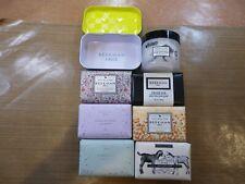 Lot 8 Beekman 1802 Sealed Soaps 3.5 oz & Pure Milk Goat Cream 2 oz Plus TIN