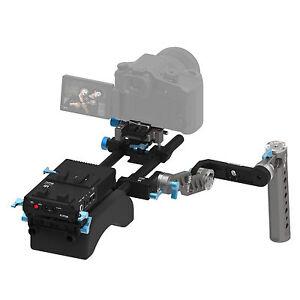 FOTGA DP500III V Mount Power Supply &Shoulder Pad &Baseplate &ENG Handle Rig Kit