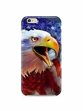 USA Patriotic Eagle Flag iPhone 4S 5 5S 5c 6 6S 7 8 X XS Max XR 11 Pro Plus Case