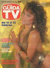 rivista NUOVA GUIDA TV ANNO 1986 NUMERO 7 LORY DEL SANTO
