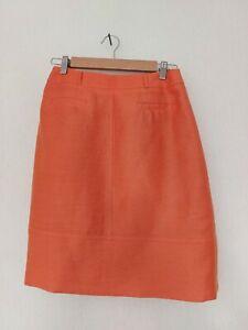 Minuet Petite Size 10 Skirt Bright Summer Linen Blend Smart Occasion RRP£75