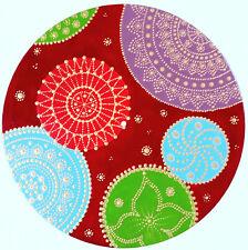 disc-mandala 21 / vinyl record mandala art handmade painting