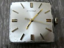 ETERNA 1472 manual works original watch movement swiss  (W234)