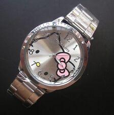 Hello KITTY montre en acier grande qualité et prix A2086