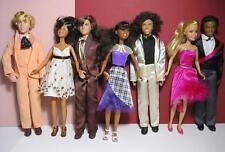 """High School Musical 10.5"""" Skipper SZ Doll PROM DATE DOLLS LOT-CHAD RYAN TROY"""