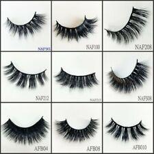 Top 200 Pairs 3D Mink False Eyelashes Wispy Cross Fluffy Extension Eye Lashes US