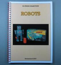 FANTASTISCHES BUCH ROBOT & SPACE WELTRAUMSPIELZEUG DIE MARKUS STAUB COLLECTION!