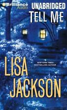 Tell Me by Lisa Jackson (2014, MP3 CD, Unabridged)