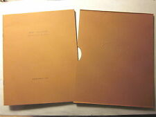KENT WILLIAMS SELECTED WORKS - Catalogue 1995 (24 Pages/Color/2,500 Printed)
