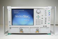 Anritsu Wiltron Ms4642B Vector Network Analyzer - 10 Mhz to 20 Ghz; Opt: 13,45