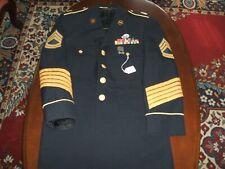 Us Army Dress Blues Uniform Tunic Sgt 1st Class
