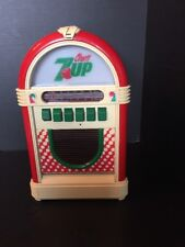 B14) CHERRY 7up JUKEBOX Advertising Store Premium AM/FM Cassette Player VINTAGE