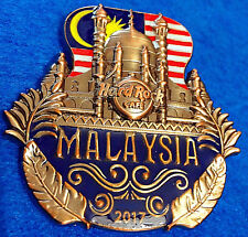 New listing Malaysia 3D Cut Off Series Iconic Landmark 2017 Mosque & Flag Hard Rock Cafe Pin