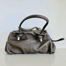 OROTON | Grey Beige Leather Medium Handbag | Rarely Used