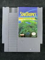 StarTropics NES Original Nintendo Video Game Authentic Tested-Free Shipping