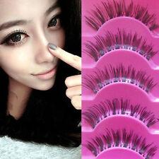 5 Pairs Makeup Handmade Long Thick Cross False Eyelashes Eye Lashes n7