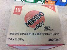 Mikado & Go Milk Chocolate Sticks 24 x 39g  Only £12.99