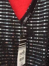 Ladies Wallis sparkly black top