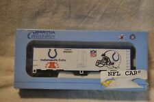 Mantua #733-836 Ho Scale Nfl Reefer Car Indianapolis Colts - New
