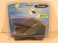Swingline Compact LightTouch Reduced Effort Stapler 20 Sheets Blue (66416)