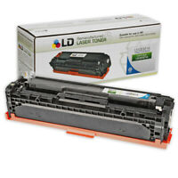 LD Remanufactured Replacement for HP 128A CE321A Cyan Toner Cartridge